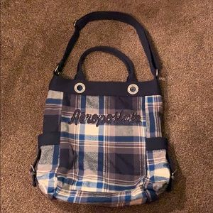 Aeropostale Tote Bag with Adjustable straps.